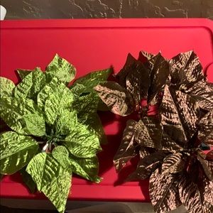 Poinsettia Holiday Decor